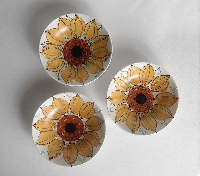 Arabia Sunflower Bowl Set
