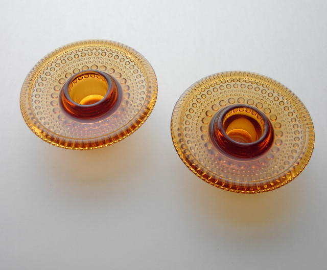 Arabia Amber Glass Candles