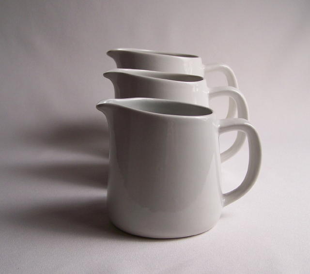 Arabia Pitcher Trio Arctic White