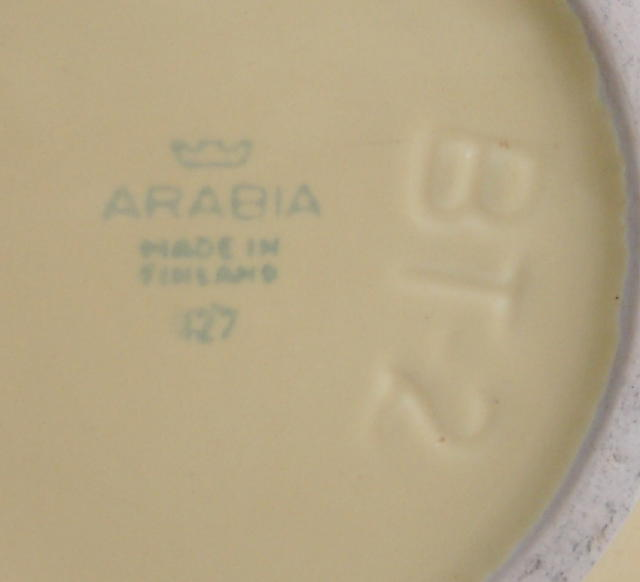 Large Arabia Serving Bowl