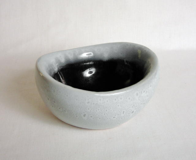 Russel Wright Bauer Granite Grey Bowl