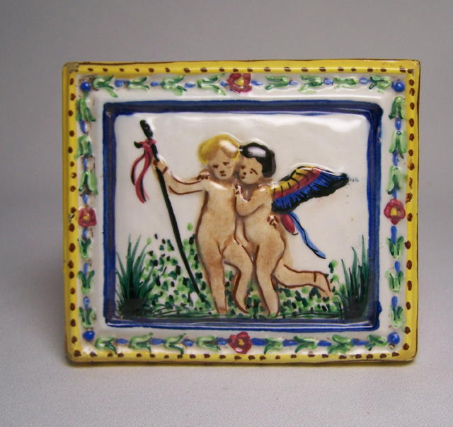 Capodimonte Wedding Trinket Box