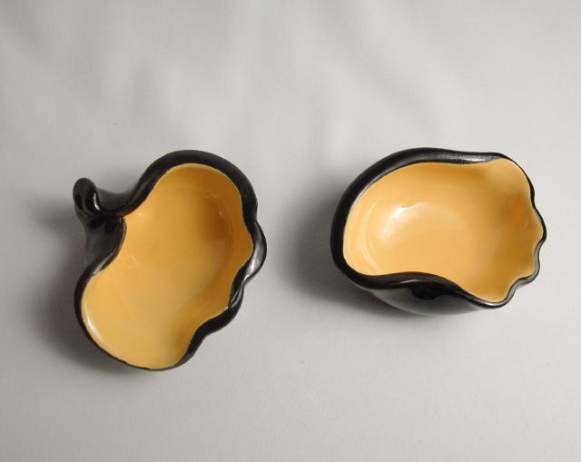 French Freeform Pair Elchinger Chambost