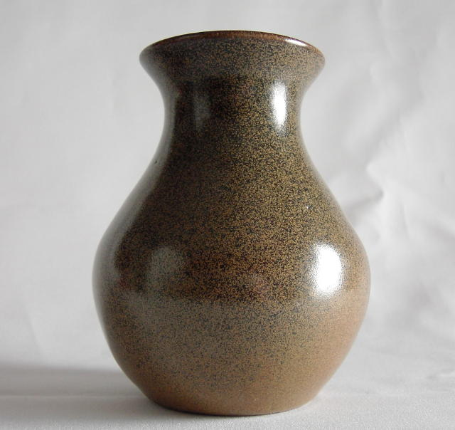 Jugtown Mottle Glaze Vase