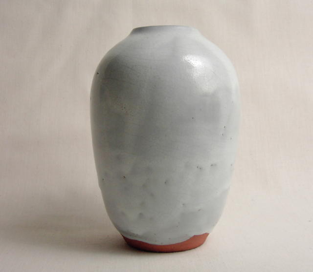 Jugtown Chinese White Vase