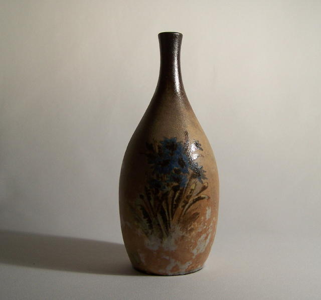 Hand Painted Floral Vase