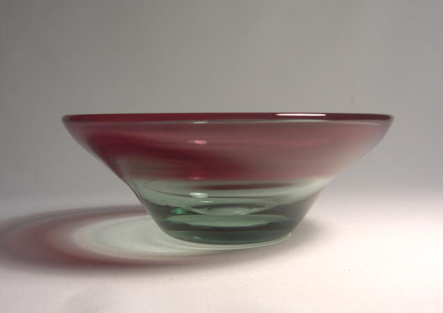 Dominick Labino Studio Bowl