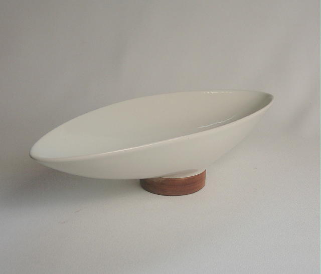 Michael Lax Oval Low Bowl