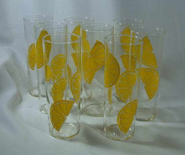Pop Federal Lemonade Glass Set (8) – Juicy!