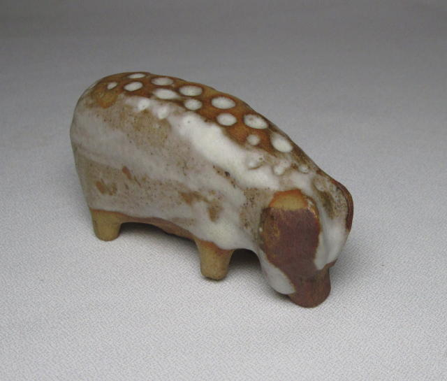 Tremar Pottery Pig Figure