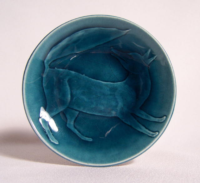 Art Deco Pin Dish Deruta Trained Priolo