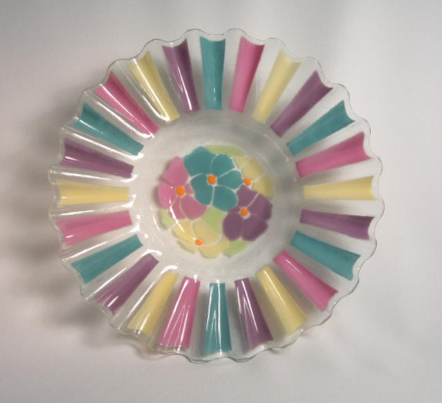 Art Glass Centerpiece
