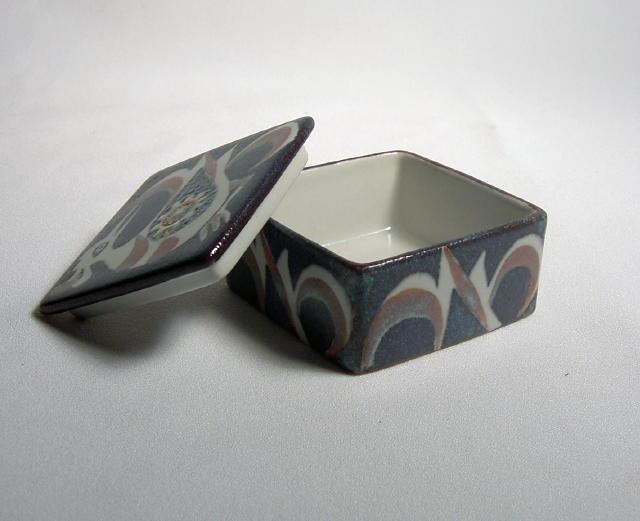 Nils Thorssen for Royal Copenhagen Lidded Box