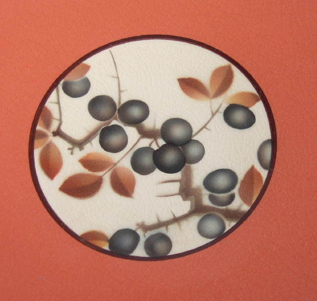 Royal Copenhagen Aluminia Currants Plate