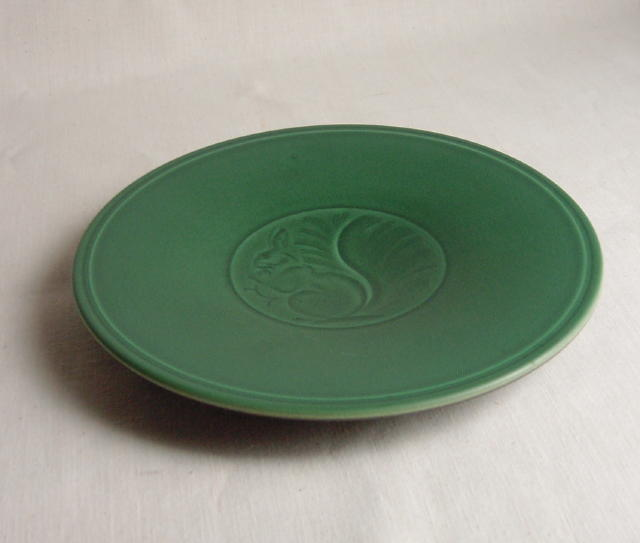 Royal Copenhagen Aluminia Squirrel Plate