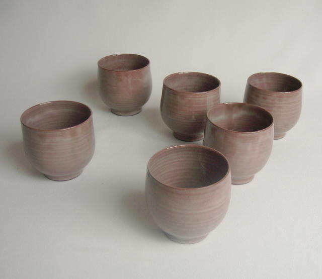 Set of 6 Scheier Tumblers