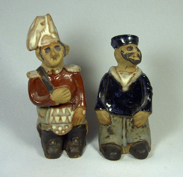 Rare Tremar England Sailor & Soldier